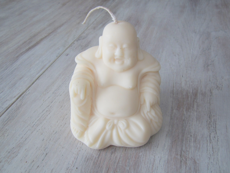 Bougie artisanale parfumée Bouddha assis