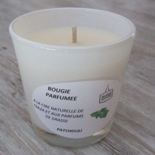 Bougie artisanale parfumée patchouli