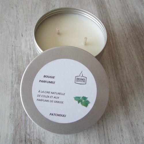 Bougie Parfumée Boîte Alu Patchouli