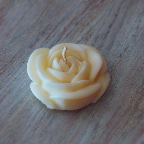 """Bougie Artisanale Parfumée """"Petite Rose"""""""