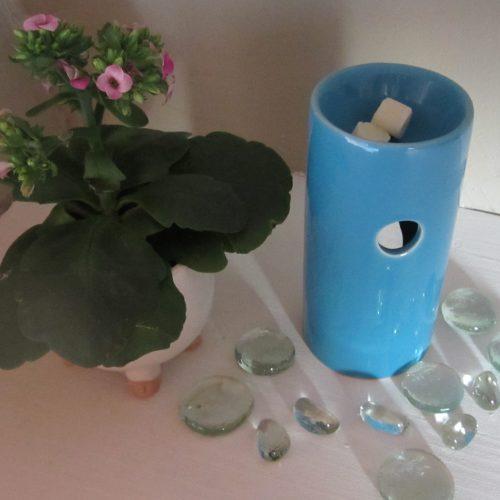 Brûle parfum turquoise