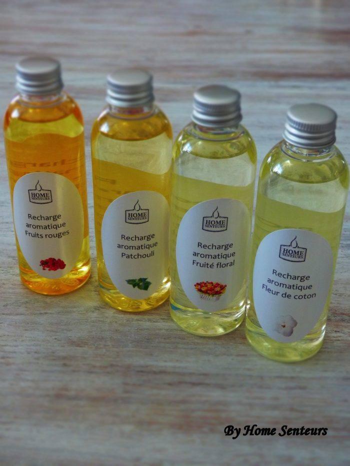 Huile parfumée recharge aromatique