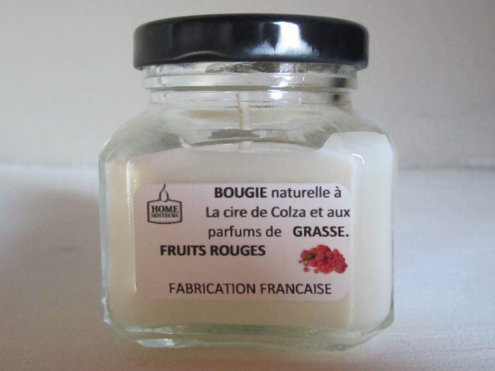 Bougie Pot FRUITS ROUGES