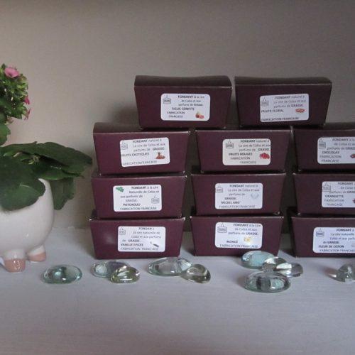 Fondants de cire parfumée